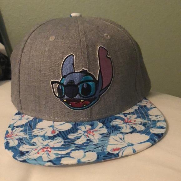 c71a4eefc70 Disney Accessories - Lilo and Stitch SnapBack hat